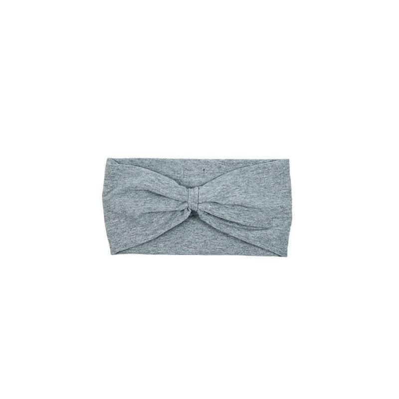 799c4ed5f94de6 Stirnband für Mädchen von Racing Kids in schimmerndem grau Baumwolle